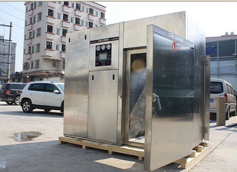 vacuum cooler for foods industry to cooling high temperture food