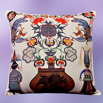 cushion cover - Blossom of Life