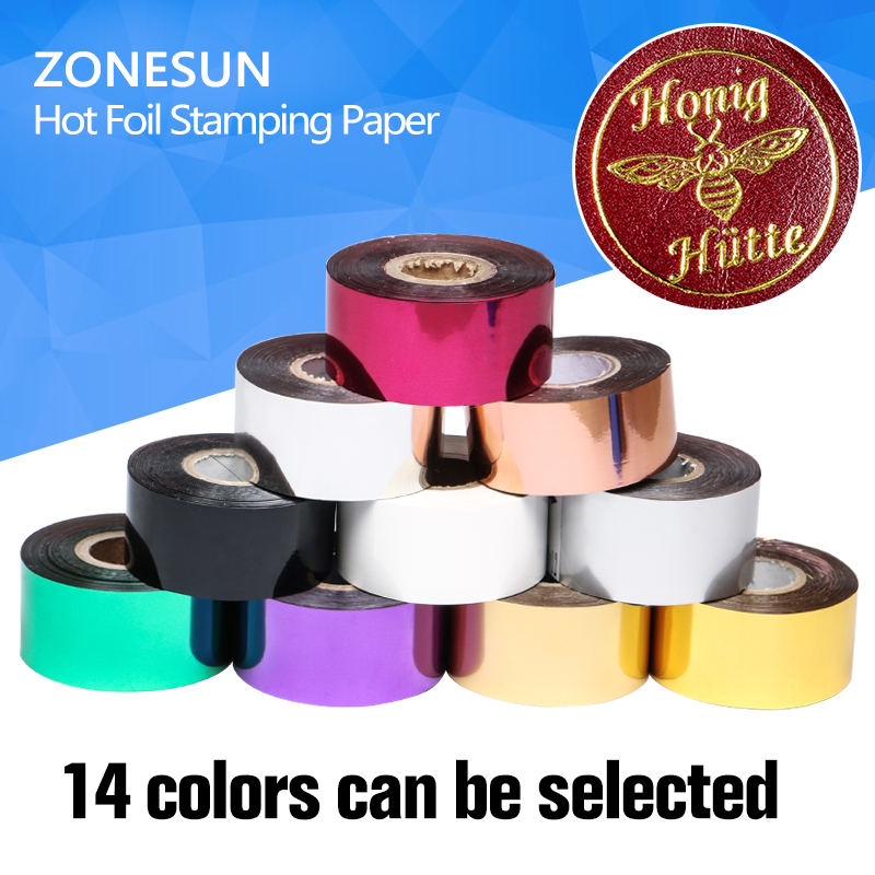 Rolls(gold and slilver) Hot Foil Stamping Paper Heat Transfer Anodized paper with Shipping Cost Fee