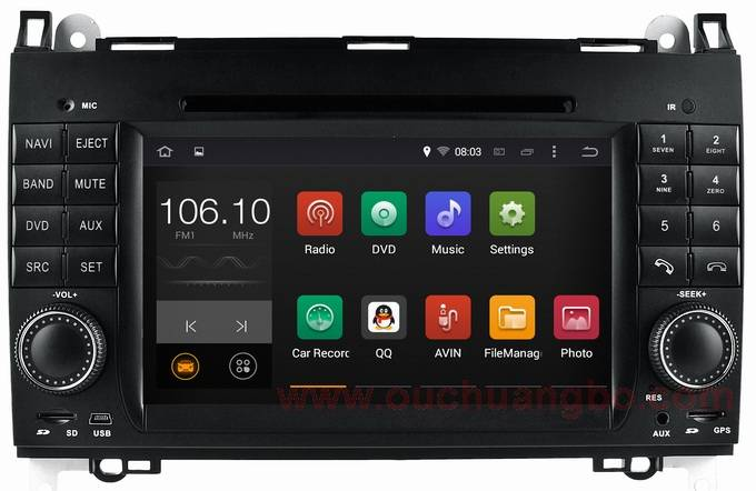 Ouchuangbo audio DVD gps navi for Mercedes Benz W168