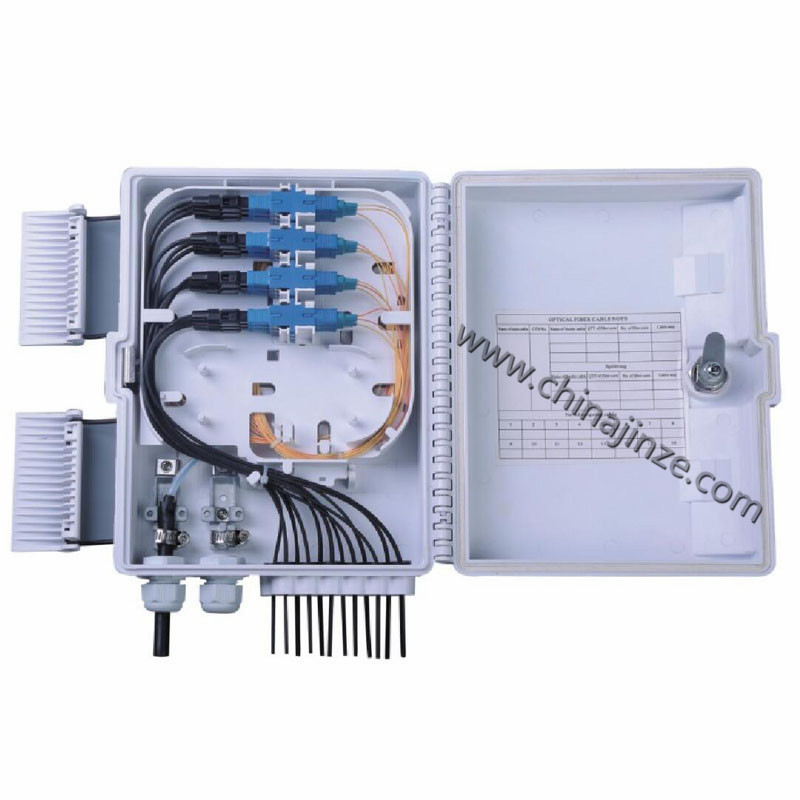 8 core or 12 core fiber optic distribution box