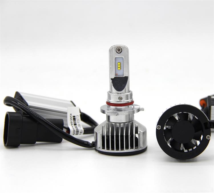 2018 Newest 6300K Pure Cool White Car H7 LED Headlight Bulb Conversion Kit