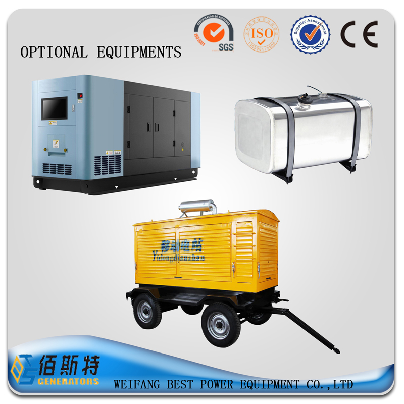 250KW silent typediesel generator Set from China