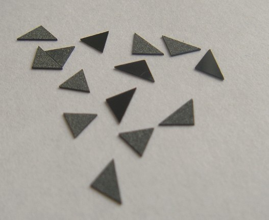 Thick-film CVD diamond tips for cutting tool