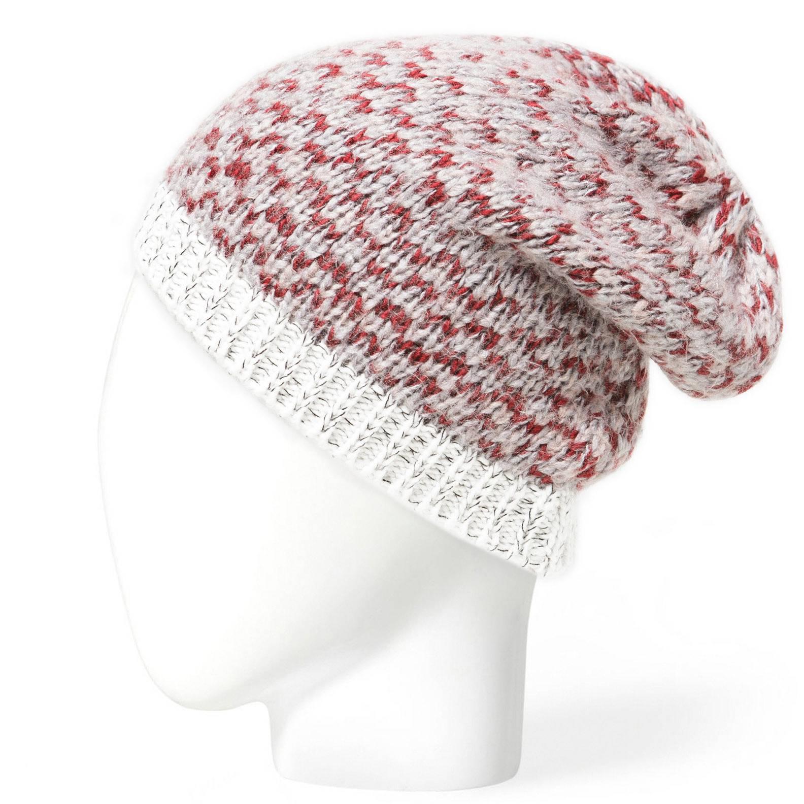 Mens custom knitted beanie hat