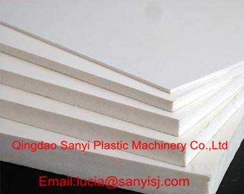 PVC Free Foam Board Machine for Advertisement