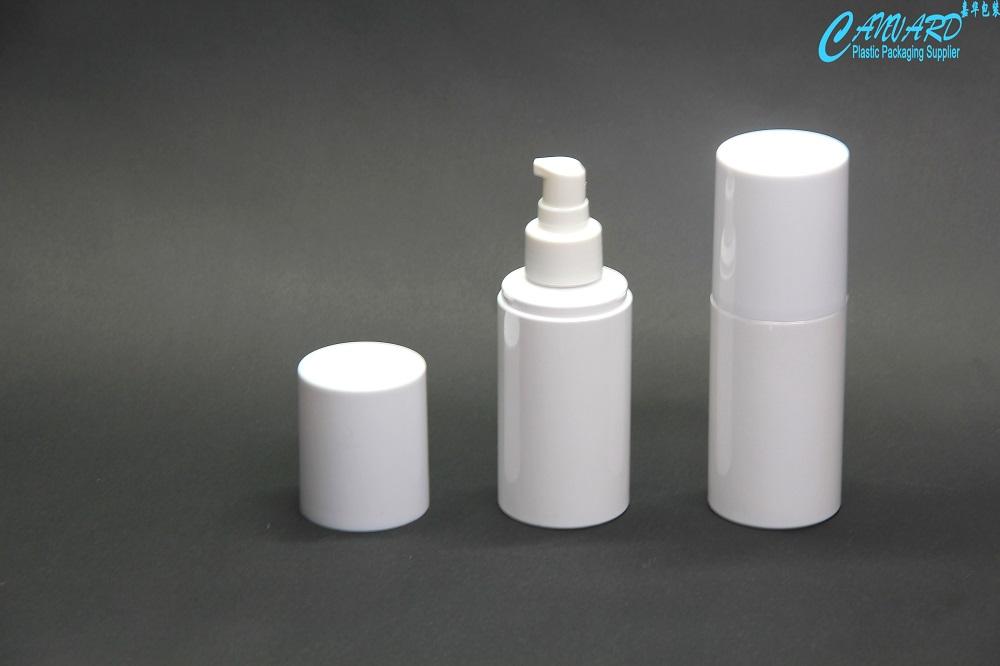 Pet plastic containers, plastic lotion bottle 120ml