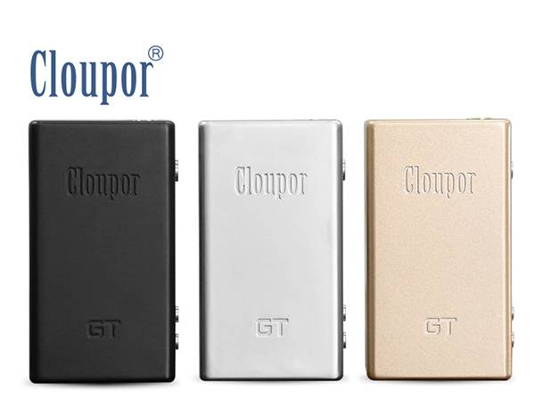 2015 New VV/VW/TC box mod cloupor gt 80w TC Cloupor GT box mod
