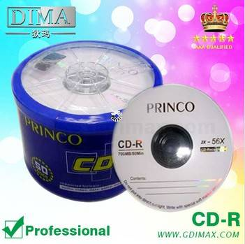 OEM high quality factory blank cdr
