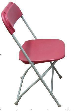 Steel Plastic Folding Chair (YOMO-001)
