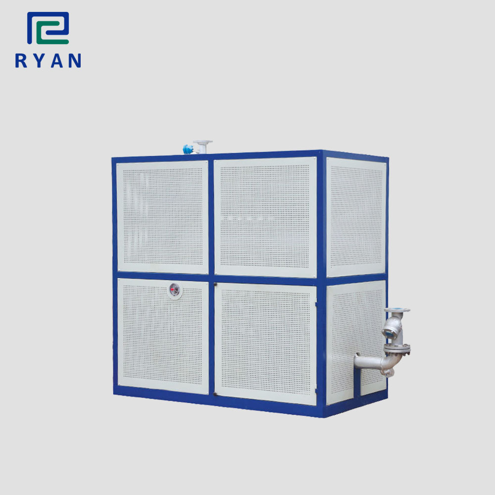 Electric heating thermal transfer oil boiler for refining crude oil