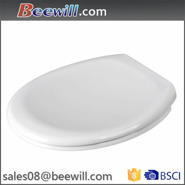 2015 hot selling European standard soft close and quick release round duroplast toilet seats