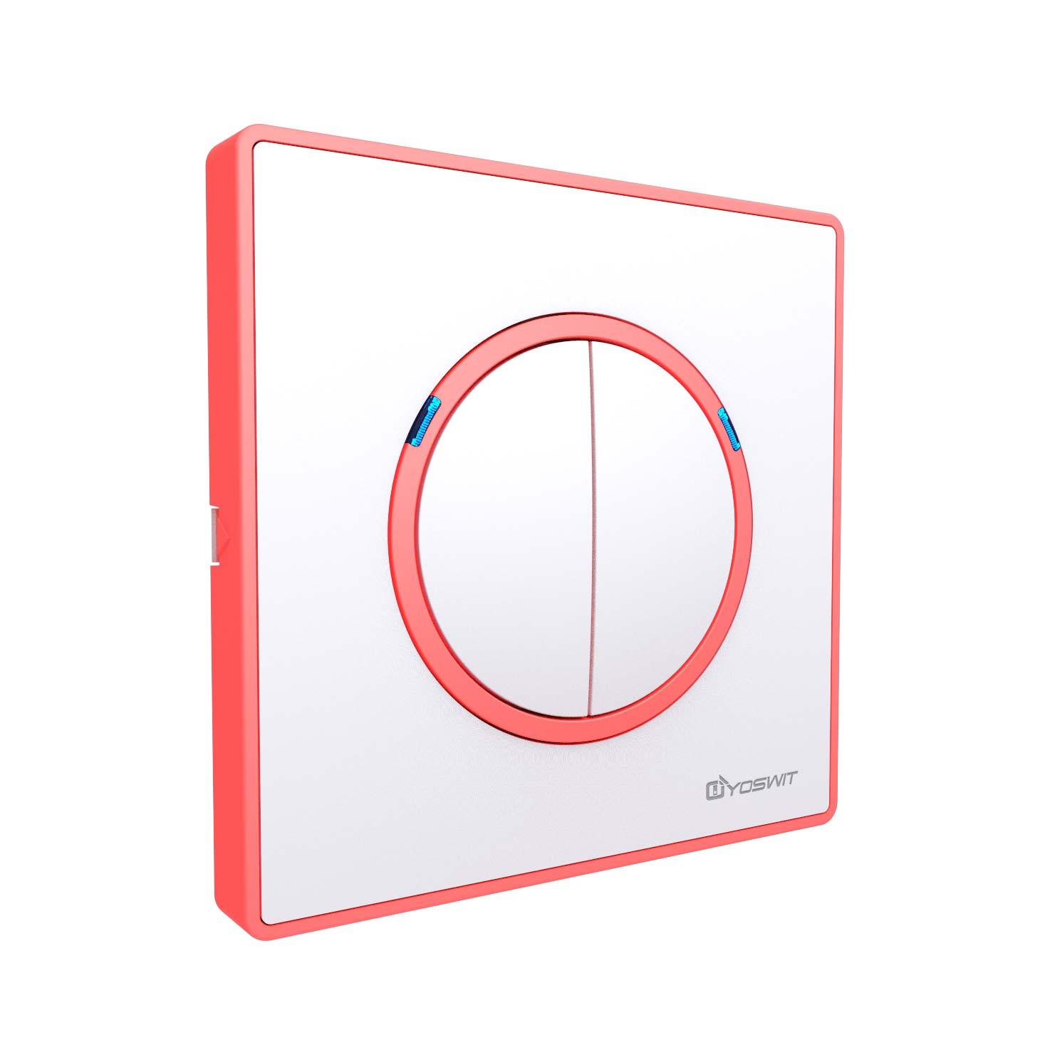 Smart Light Switch - Socket 86 - 2 Gang