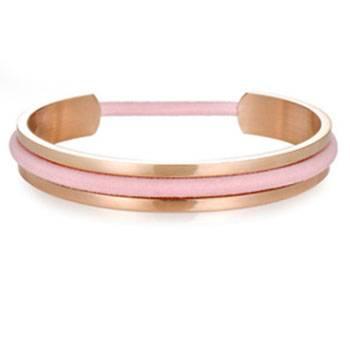 Hair Tie Ladies Stainless Steel Cuff Bracelet