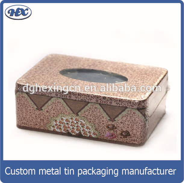 Metal tissue cans/boxes