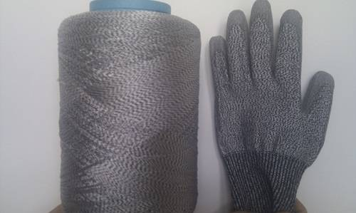 UHMWPE BLENDED YARN USED FOR CUT RESISTANT GLOVES