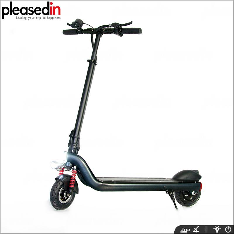 8inch 350watt 36Volt Strong Power Kick Scooter From Pleasein Manufacturer