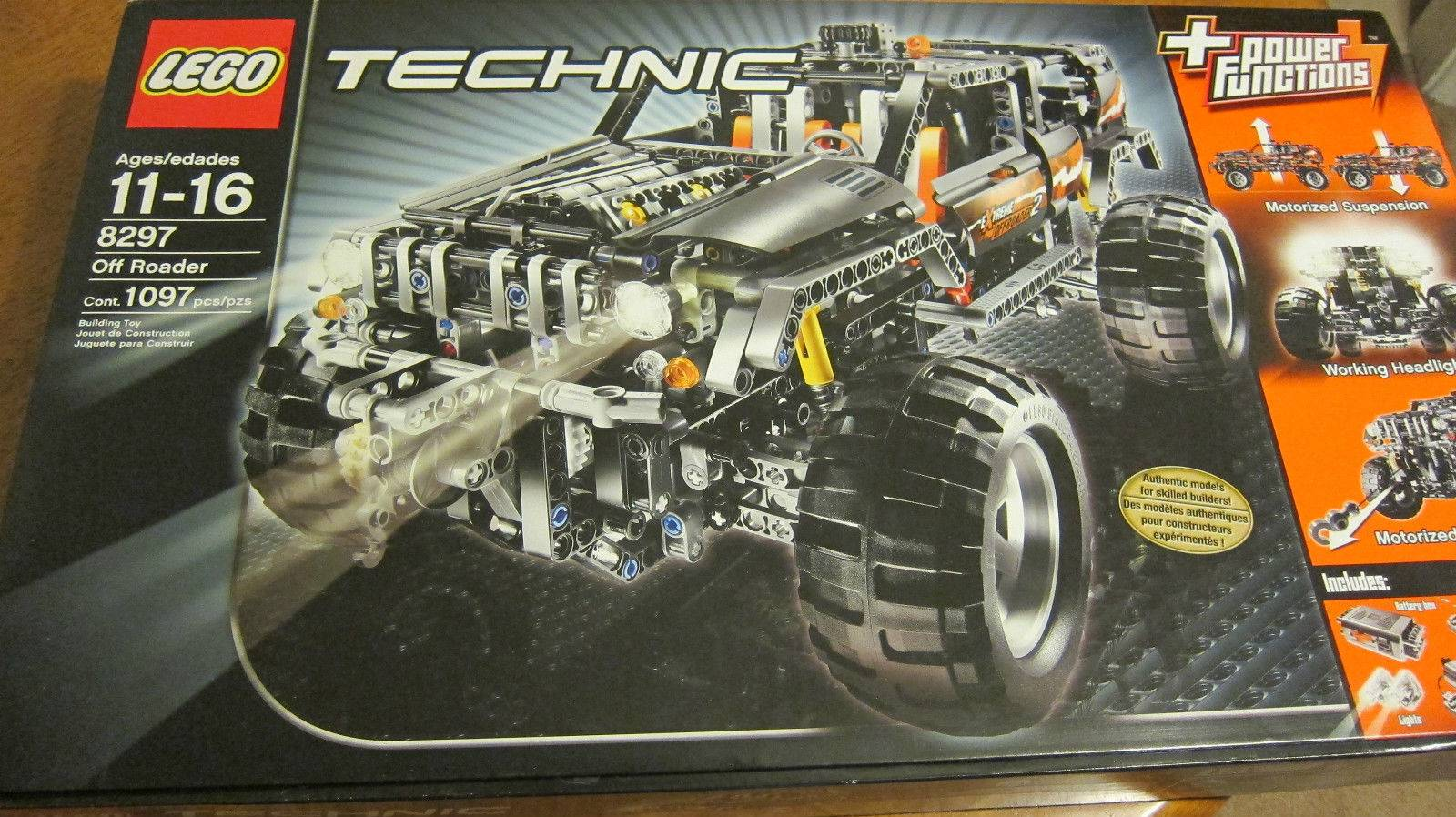 Lego 8297 Technic Power Functions Off Roader Set