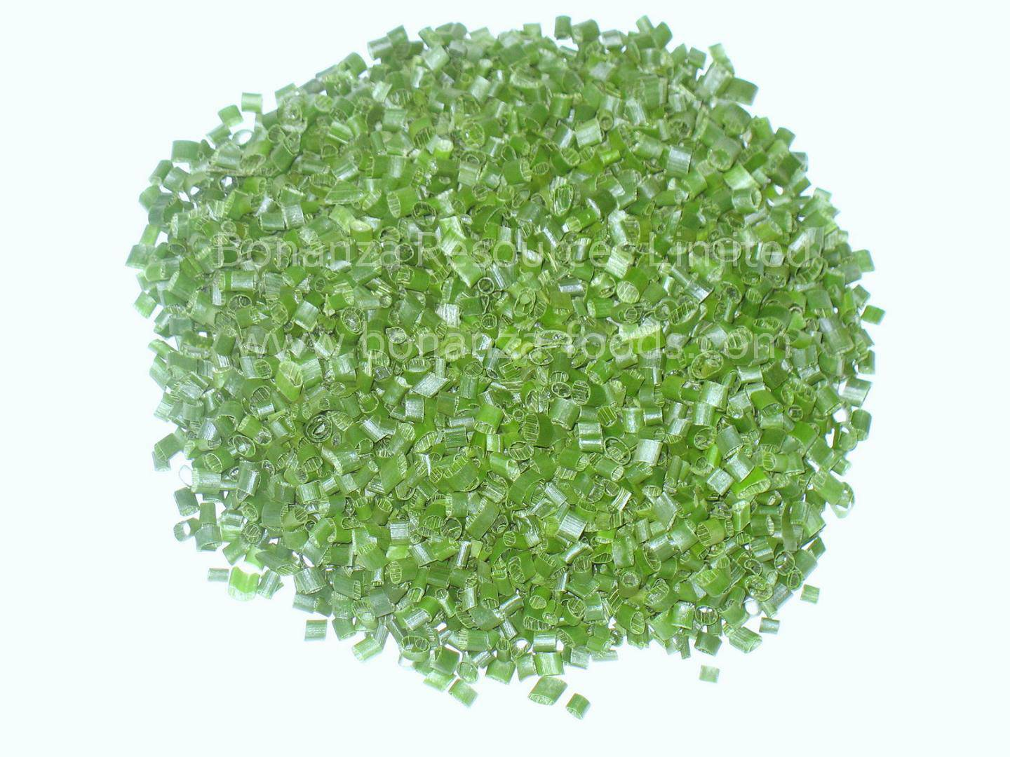 Freeze Dried/Opyilized Chives Ring All Green
