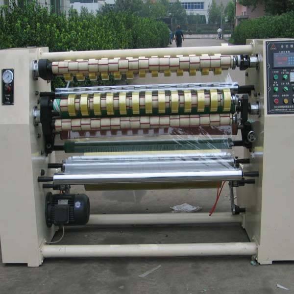 adhesive tape slitting machine