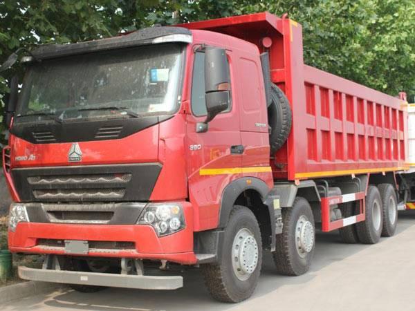 SINOTRUK HOWO A7 8x4 Dump Truck 7.3m Body, EUROIII