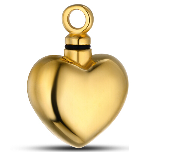 Heart Pendant Stainless steel cremation jewelry
