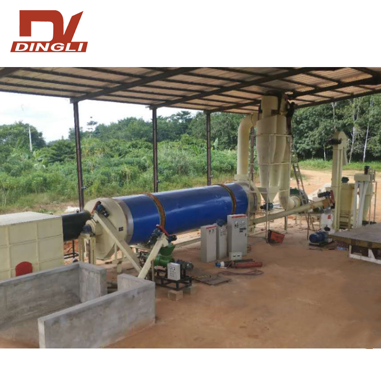 Large Capacity Chicken Manure Rotary Dryer with Low Price