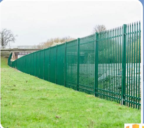 perimeter palisade fencing