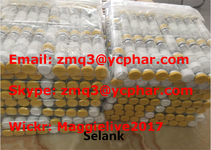 Peptide Hormones Bodybuilding Raw Powder Purity Peptides Selank for Body Growth