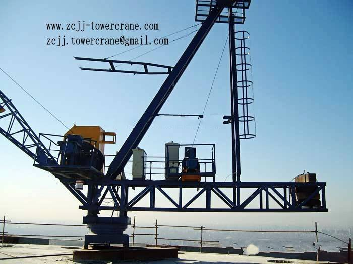 Derrick crane TCD2420(8t,10t)