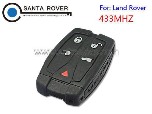 5 button smart car key 433 mhz for Land Rover Freelander 2 remote key 433mhz