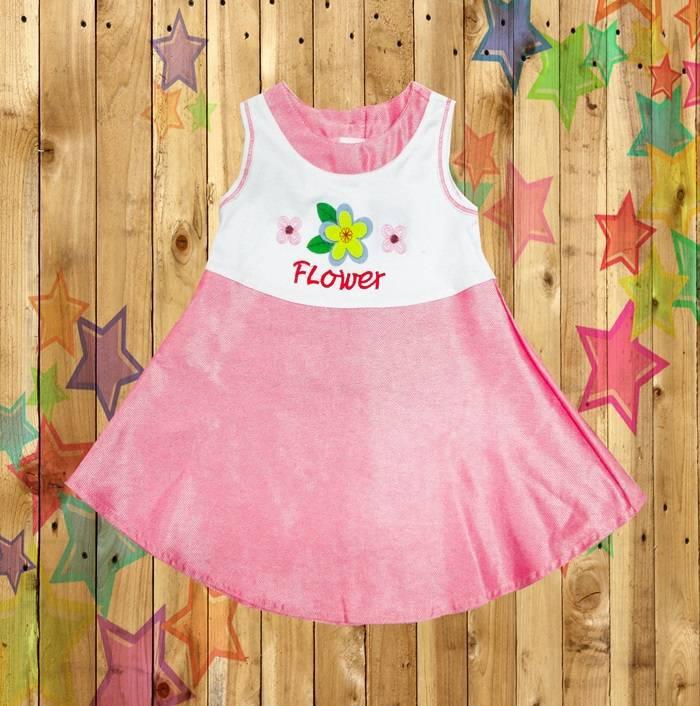 Fushion Kids baby girls infant children cltohes  dress knit cotton boutique garment Wholesale clothi