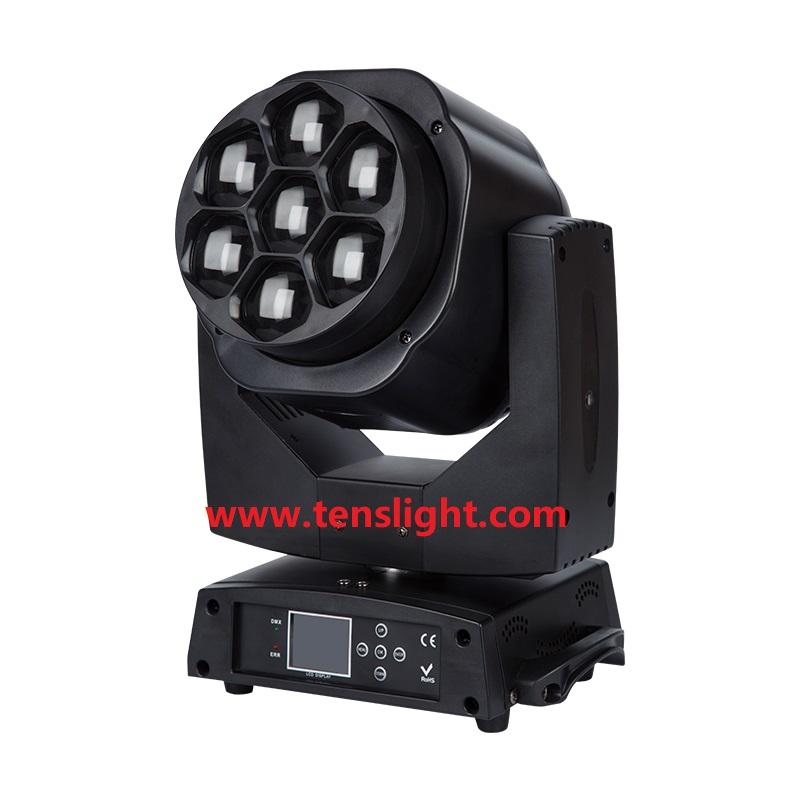 740W RGBW 4 in 1 LED Moving Head Wash Zoom TSL-009