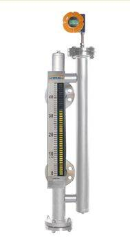 Dual-chamber Technical Magnetic Level Gauge