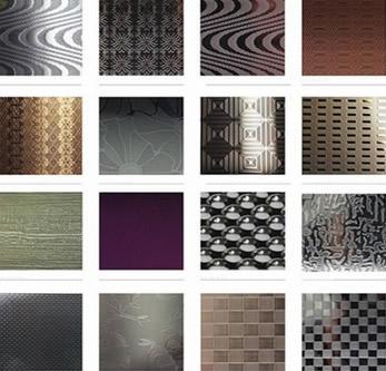 Embossed Metal Panels