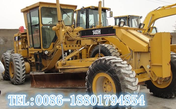 used CAT 140H grader for hot sale