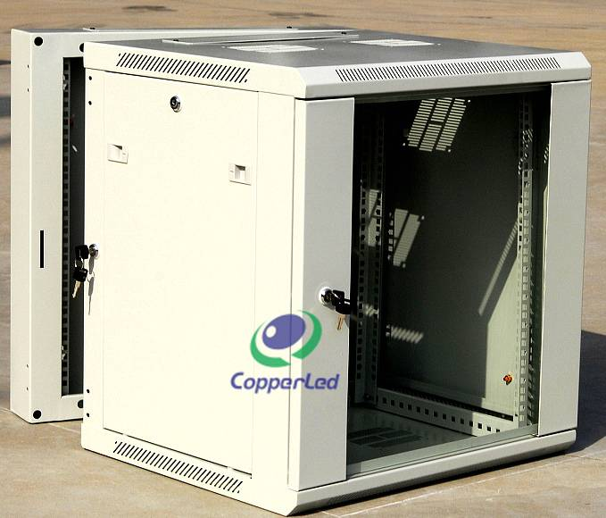Double Section Wall Cabinet 22U Cabinet