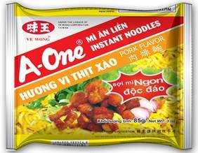 Best instant noodles with Pork Flavor