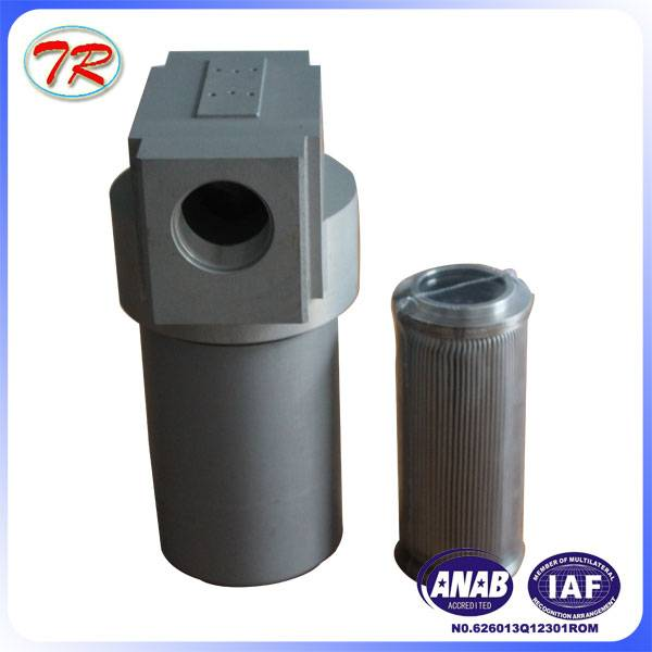 YPM hydraulic oil filter housing strainer
