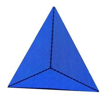 Pyramid-shaped Perfect LED Screen, Indoor P5