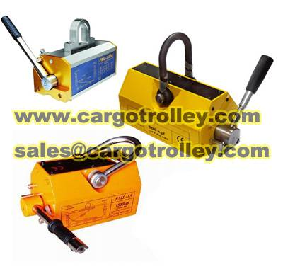 permanent magnetic lifter worked as powerful magnetic lifter