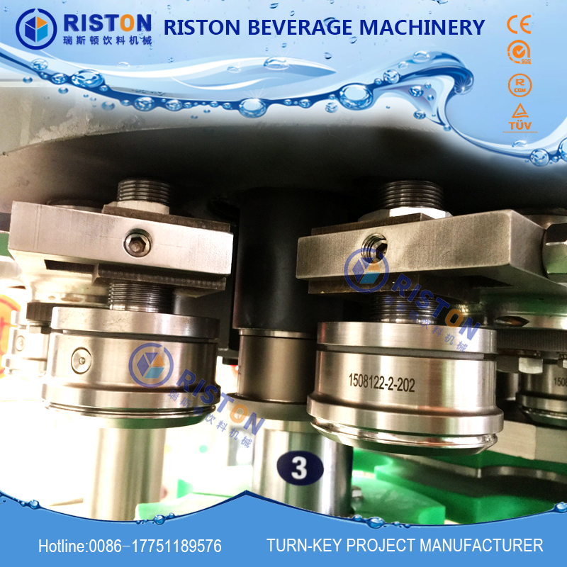 MIC 12 1 Europe standard factory produce directly automatic soft drink beer aluminum Can filling and
