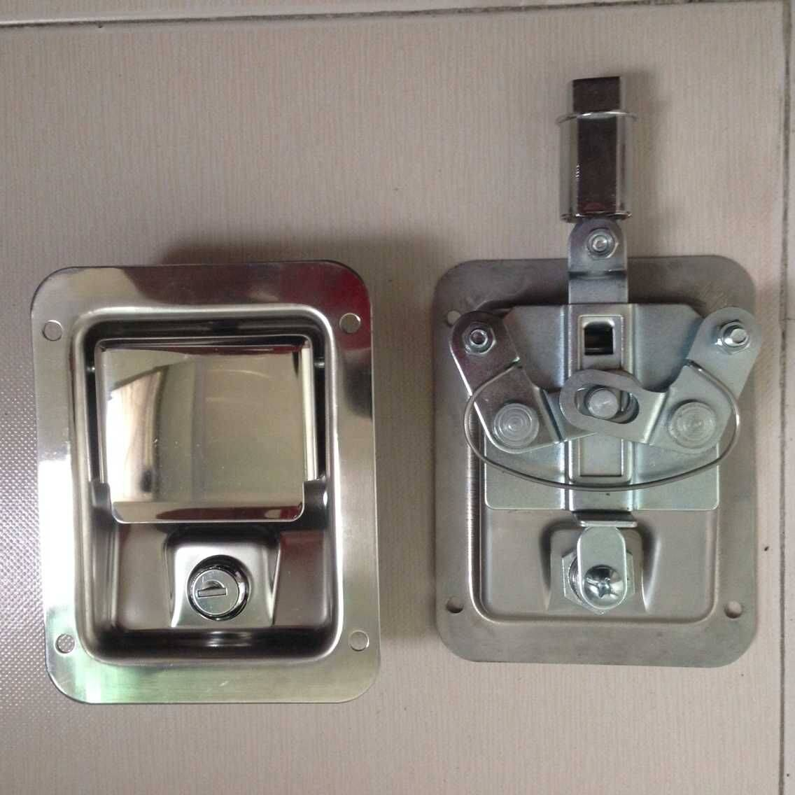 Industrial safety cabinet Stainless steel 3 point cabinet paddle lock