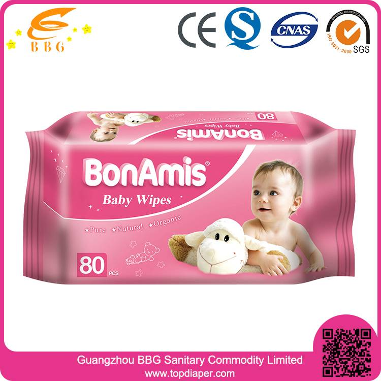 High quality soft baby wet wipes China