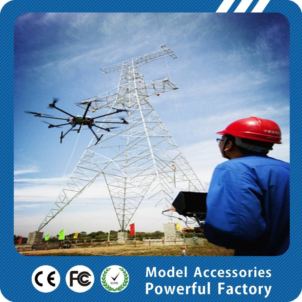 Six rotor drone professional for electric power pulling line and inspection X8 drone uav china manuf