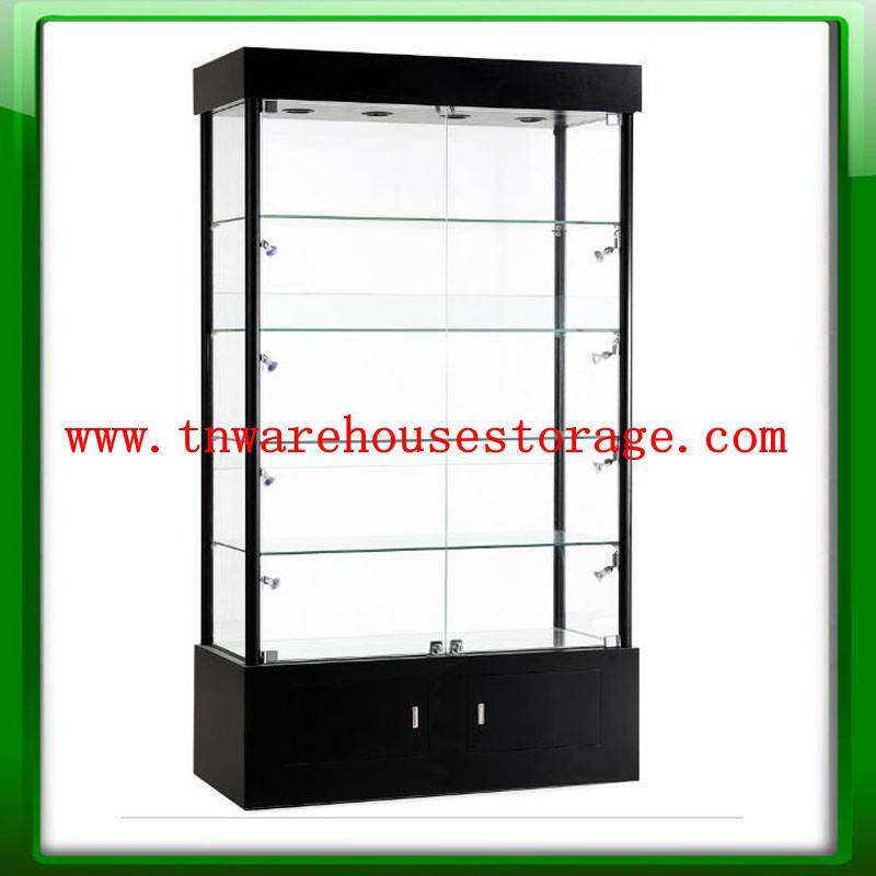 ashional glass display showcase,jewelry display showcase,glass showcase on HOT selling