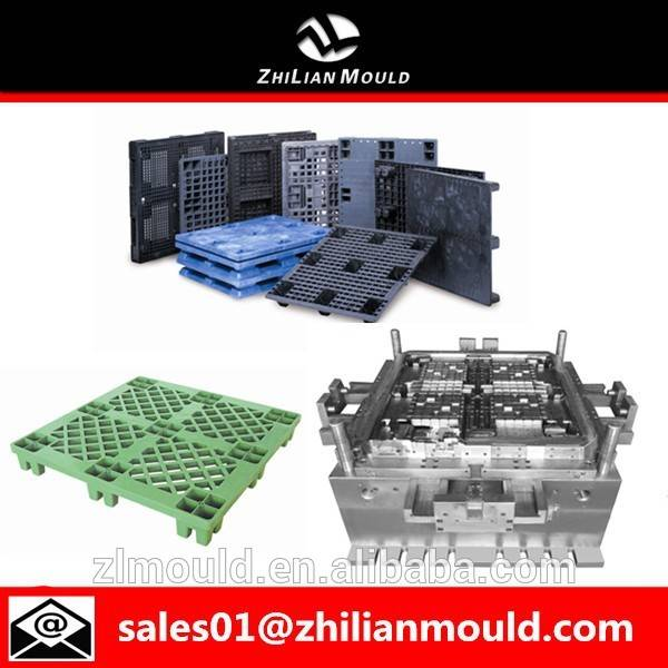 high quality custom plastic warehouse pallet moulds in taizhou