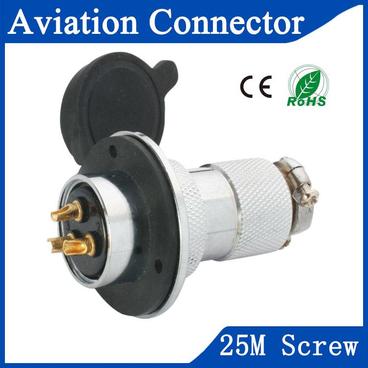 25M aviation sensor connector