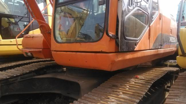 Used Daewoo 220LC-7 Crawler Excavator Original from Korea  for sale