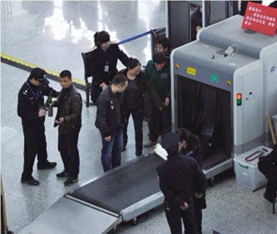 best quality X Ray scanner baggage conveyor, x-ray developer machine for airport